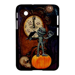 Funny Mummy With Skulls, Crow And Pumpkin Samsung Galaxy Tab 2 (7 ) P3100 Hardshell Case  by FantasyWorld7