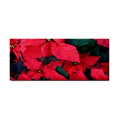 Red Poinsettia Flower Cosmetic Storage Cases