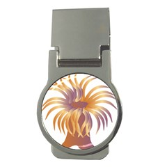 Sea Anemone Money Clips (round)  by Mariart