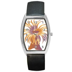 Sea Anemone Barrel Style Metal Watch by Mariart