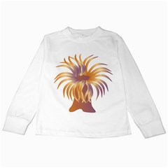 Sea Anemone Kids Long Sleeve T Shirts by Mariart