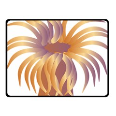 Sea Anemone Fleece Blanket (small)