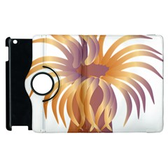 Sea Anemone Apple Ipad 2 Flip 360 Case by Mariart