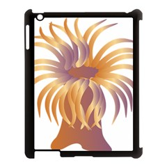 Sea Anemone Apple Ipad 3/4 Case (black) by Mariart