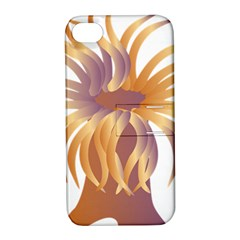 Sea Anemone Apple Iphone 4/4s Hardshell Case With Stand by Mariart