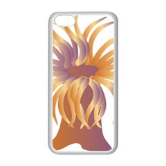 Sea Anemone Apple Iphone 5c Seamless Case (white) by Mariart