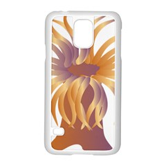 Sea Anemone Samsung Galaxy S5 Case (white) by Mariart