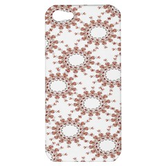 Pattern Flower Floral Star Circle Love Valentine Heart Pink Red Folk Apple Iphone 5 Hardshell Case by Mariart