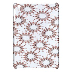 Pattern Flower Floral Star Circle Love Valentine Heart Pink Red Folk Apple Ipad Mini Hardshell Case by Mariart
