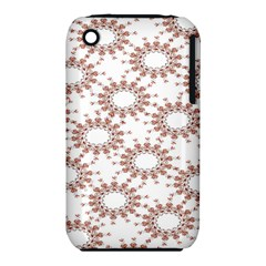 Pattern Flower Floral Star Circle Love Valentine Heart Pink Red Folk Iphone 3s/3gs by Mariart