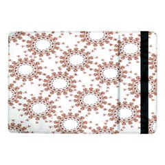 Pattern Flower Floral Star Circle Love Valentine Heart Pink Red Folk Samsung Galaxy Tab Pro 10 1  Flip Case by Mariart