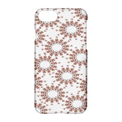 Pattern Flower Floral Star Circle Love Valentine Heart Pink Red Folk Apple Iphone 7 Hardshell Case by Mariart