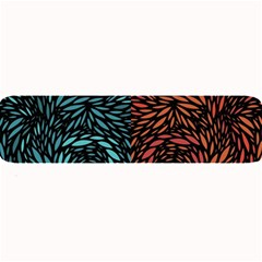 Square Pheonix Blue Orange Red Large Bar Mats by Mariart