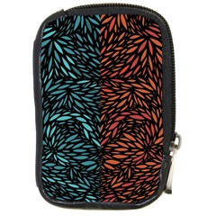Square Pheonix Blue Orange Red Compact Camera Cases by Mariart