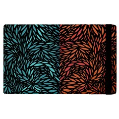 Square Pheonix Blue Orange Red Apple Ipad 2 Flip Case by Mariart