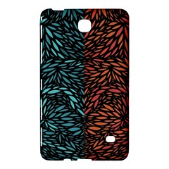 Square Pheonix Blue Orange Red Samsung Galaxy Tab 4 (7 ) Hardshell Case  by Mariart