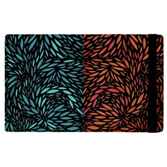 Square Pheonix Blue Orange Red Apple Ipad Pro 9 7   Flip Case by Mariart