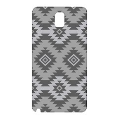 Triangle Wave Chevron Grey Sign Star Samsung Galaxy Note 3 N9005 Hardshell Back Case by Mariart