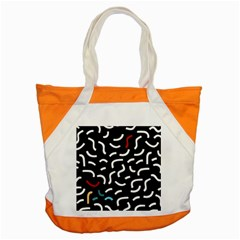 Toucan White Bluered Accent Tote Bag by Mariart