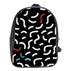 Toucan White Bluered School Bag (large)