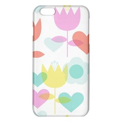 Tulip Lotus Sunflower Flower Floral Staer Love Pink Red Blue Green Iphone 6 Plus/6s Plus Tpu Case by Mariart