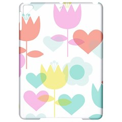 Tulip Lotus Sunflower Flower Floral Staer Love Pink Red Blue Green Apple Ipad Pro 9 7   Hardshell Case by Mariart