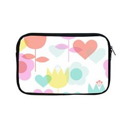 Tulip Lotus Sunflower Flower Floral Staer Love Pink Red Blue Green Apple Macbook Pro 13  Zipper Case by Mariart