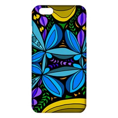 Star Polka Natural Blue Yellow Flower Floral Iphone 6 Plus/6s Plus Tpu Case by Mariart