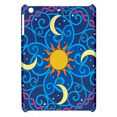 Sun Moon Star Space Vector Clipart Apple Ipad Mini Hardshell Case by Mariart