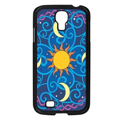 Sun Moon Star Space Vector Clipart Samsung Galaxy S4 I9500/ I9505 Case (black) by Mariart