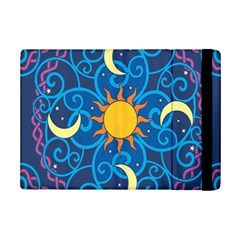 Sun Moon Star Space Vector Clipart Ipad Mini 2 Flip Cases by Mariart