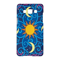 Sun Moon Star Space Vector Clipart Samsung Galaxy A5 Hardshell Case  by Mariart