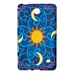 Sun Moon Star Space Vector Clipart Samsung Galaxy Tab 4 (7 ) Hardshell Case  by Mariart