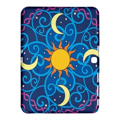 Sun Moon Star Space Vector Clipart Samsung Galaxy Tab 4 (10 1 ) Hardshell Case  by Mariart