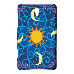 Sun Moon Star Space Vector Clipart Samsung Galaxy Tab S (8 4 ) Hardshell Case  by Mariart