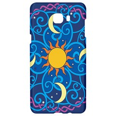Sun Moon Star Space Vector Clipart Samsung C9 Pro Hardshell Case  by Mariart
