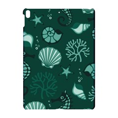Vector Seamless Pattern With Sea Fauna Seaworld Apple Ipad Pro 10 5   Hardshell Case
