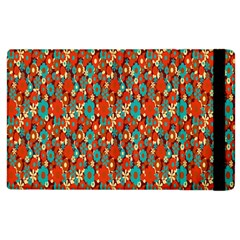 Surface Patterns Bright Flower Floral Sunflower Apple Ipad 2 Flip Case by Mariart