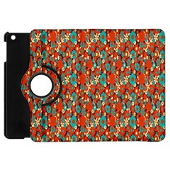 Surface Patterns Bright Flower Floral Sunflower Apple Ipad Mini Flip 360 Case by Mariart