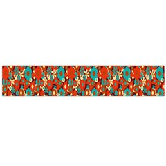 Surface Patterns Bright Flower Floral Sunflower Flano Scarf (large) by Mariart