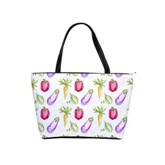 Vegetable Pattern Carrot Shoulder Handbags by Mariart