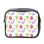 Vegetable Pattern Carrot Mini Toiletries Bag 2-Side Front