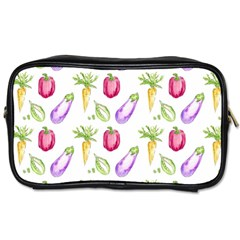Vegetable Pattern Carrot Toiletries Bags