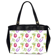 Vegetable Pattern Carrot Office Handbags (2 Sides)  by Mariart