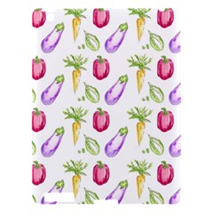 Vegetable Pattern Carrot Apple Ipad 3/4 Hardshell Case by Mariart