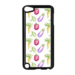 Vegetable Pattern Carrot Apple Ipod Touch 5 Case (black) by Mariart