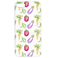 Vegetable Pattern Carrot Apple Iphone 5 Hardshell Case With Stand by Mariart