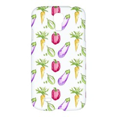 Vegetable Pattern Carrot Samsung Galaxy S4 I9500/i9505 Hardshell Case by Mariart