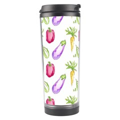 Vegetable Pattern Carrot Travel Tumbler by Mariart