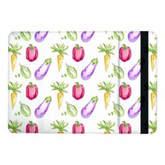 Vegetable Pattern Carrot Samsung Galaxy Tab Pro 10 1  Flip Case by Mariart